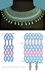 675 best making beaded necklaces images on pinterest