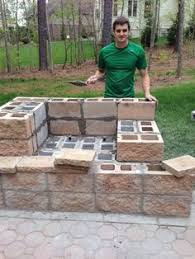 Backyard Fireplace Plans by Outdoor Fireplace Plans Diy Outdoor Kitchen With Cinder Blocks