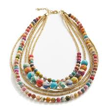 turquoise coloured necklace images Fair trade necklaces jpg