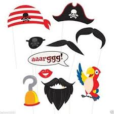 pirate party 10 pirate party photo booth props accessories birthday
