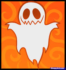 how to draw a ghost for kids doodling halloween pinterest