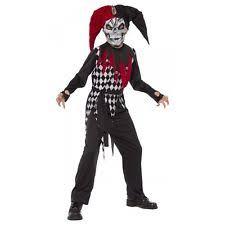 age 8 16 boys krazed jester costume mask halloween fancy dress medieval and gothic boys u0027 costumes ebay
