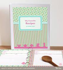 free printable recipe pages free printable recipe binder templates etame mibawa co
