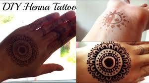 diy henna tattoo without real henna powder youtube