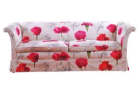 Floral Sofas In Style Incredible Floral Sofa With 20 Polyester Cloth Sofa Bed Modern