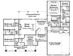 craftsman style house plan 3 beds 2 50 baths 1900 sq ft 21 346