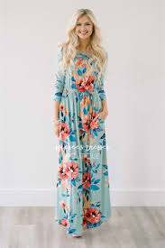 floral maxi dress mint tropical floral maxi modest dress best and