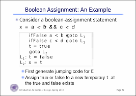 boolean expressions for computing values boolean expressions for
