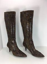 s boots nine nine kitten heel knee high boots for ebay