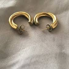 monet earrings women s monet hoop earrings on poshmark