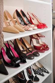 Shoe Home Decor Vintage White Wooden Painting Closet Shoe Racks Best With Shoe