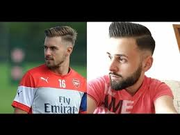 soccer haircut steps tutorial men s haircut hairstyle aaron ramsey official hairstyle
