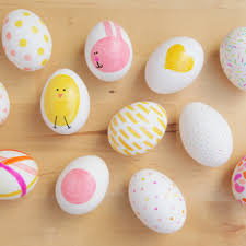 cool creative easter egg decorating ideas modern rooms colorful
