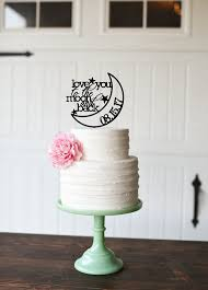 wedding cake topper to the moon and back wedding cake topper