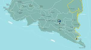 Map Of Portofino Italy by Laportofinese Mulino Del Gassetta