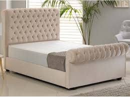 Luxury Bed Frame Luxury Bed Frame In Hercules Ivory The Cosy Bedding Company
