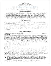 Resume Career Summary Examples by Career Summary For Administrative Assistant Resume Free Resume