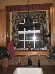 Rust Colored Kitchen Curtains Best 25 Primitive Curtains Ideas On Pinterest Country Window