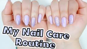 6 tips to stop peeling nails u0026 my nail care routine youtube