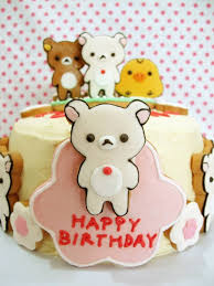 47 best cake kuma images on pinterest rilakkuma cake cake