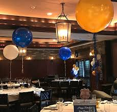 jumbo balloons nypd themed jumbo balloons with tassels the party place li the