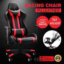 Desk Gaming Chair by High Back Racing Gaming Chair Race Car Seat Office Desk Adjustable