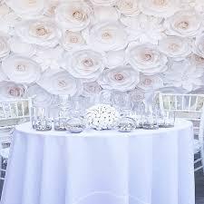 wedding backdrop decorations 77pcs set paper flowers for wedding backdrop decorations