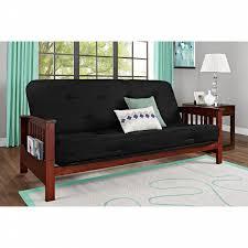 essential home heritage magazine rack futon with 6