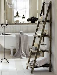 inspiring vintage small bathroom with barn wooden towel rack ideas