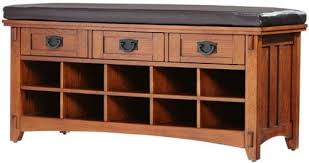 Home Decorators Bench Artisan Bench With Shoe Storage 42wx16dx20h Light Oak Home