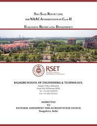 evaluative report of departments rajagiri of engineering
