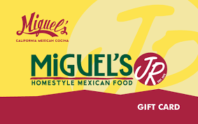 restaurant gift card miguel s jr restaurants gift card