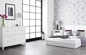 walnut and white bedroom furniture white and walnut bedroom furniture