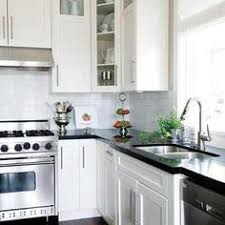 Black Countertop Kitchen by Granite Behind Faucet To Window Sill Granite Farmhouse Sink