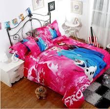 Frozen Comforter Queen Frozen Bedding Elsa Anna Bedding For Girls 100 Cotton Frozen