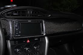black subaru brz interior carbon fiber dash trim scion fr s forum subaru brz forum