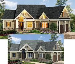 plan 15883ge craftsman inspired ranch home plan craftsman