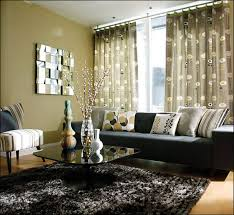 living room qc sectional large stylish curtain glass table and
