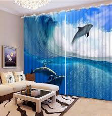 popular exterior wall murals buy cheap exterior wall murals lots wholesale 3d space mural wall papers beach dolphin curtains for living room curtain styles for bedrooms