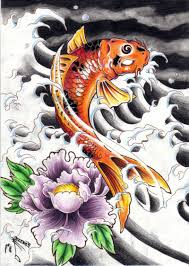 dragon koi fish tattoos designs cool tattoos bonbaden