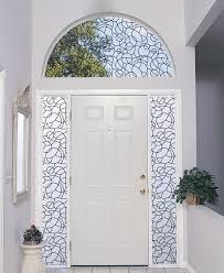 Front Windows Decorating Decorating Front Door Design Ideas With Artscape Window