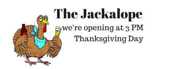 on thanksgiving day the jackalope 23 november
