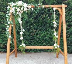 wedding arches hire melbourne wedding swing flower swing hire melbourne