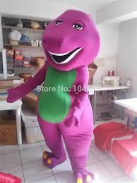 ohlees barney mascot costume halloween christmas birthday props