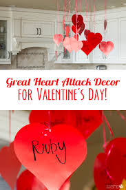 valentines decor great heart attack decor for s day how does she