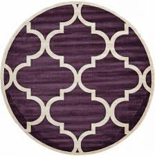 5ft Round Rug by Living Room Lounge Room With Elegant Round White Modern