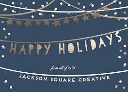 Business Holiday Card Business Holiday Cards Holiday Streamers At Minted Com