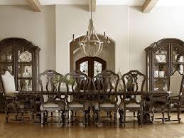 11 piece dining room set universal castella 11 piece valencia dining table set with