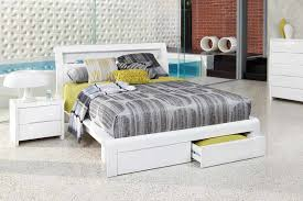 benton white queen size bed bedshed bedshed