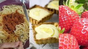 cuisiner pates pâtes gâteaux fraises ce que les français préfèrent manger